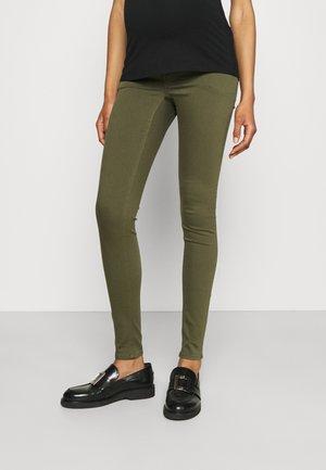 PANTS NORAH - Jeans Skinny Fit - olive