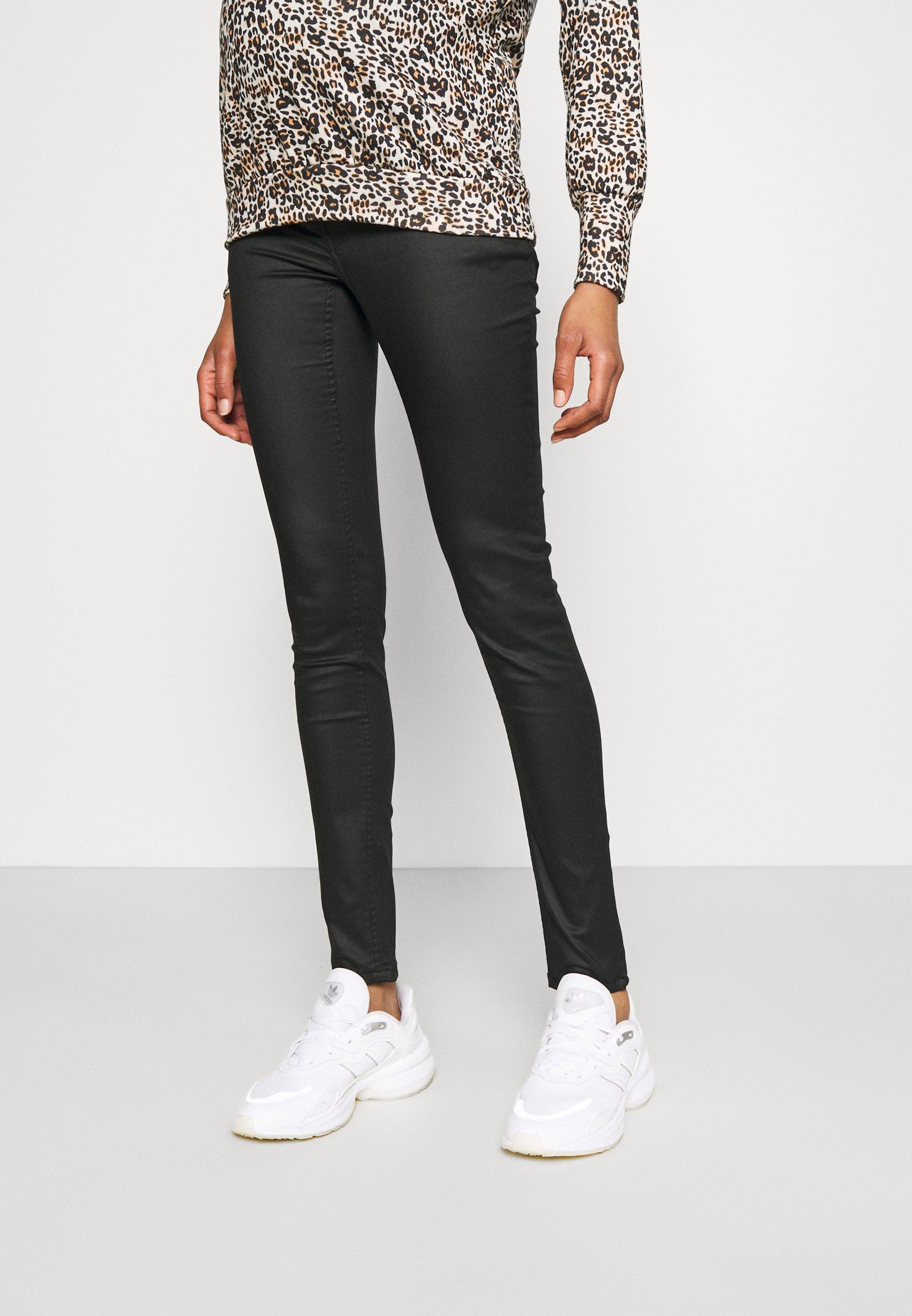 Damer PANTS COATED - Jeans Skinny Fit