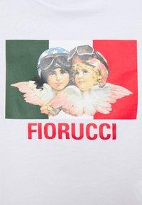 Fiorucci - SPEED QUEEN CROP TEE  - T-shirt con stampa - white - 2