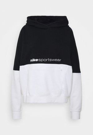 HOODIE ARCHIVE - Sweat à capuche - black/white