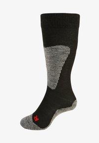 FALKE - ACTIVE SKI - Knee high socks - black - 0