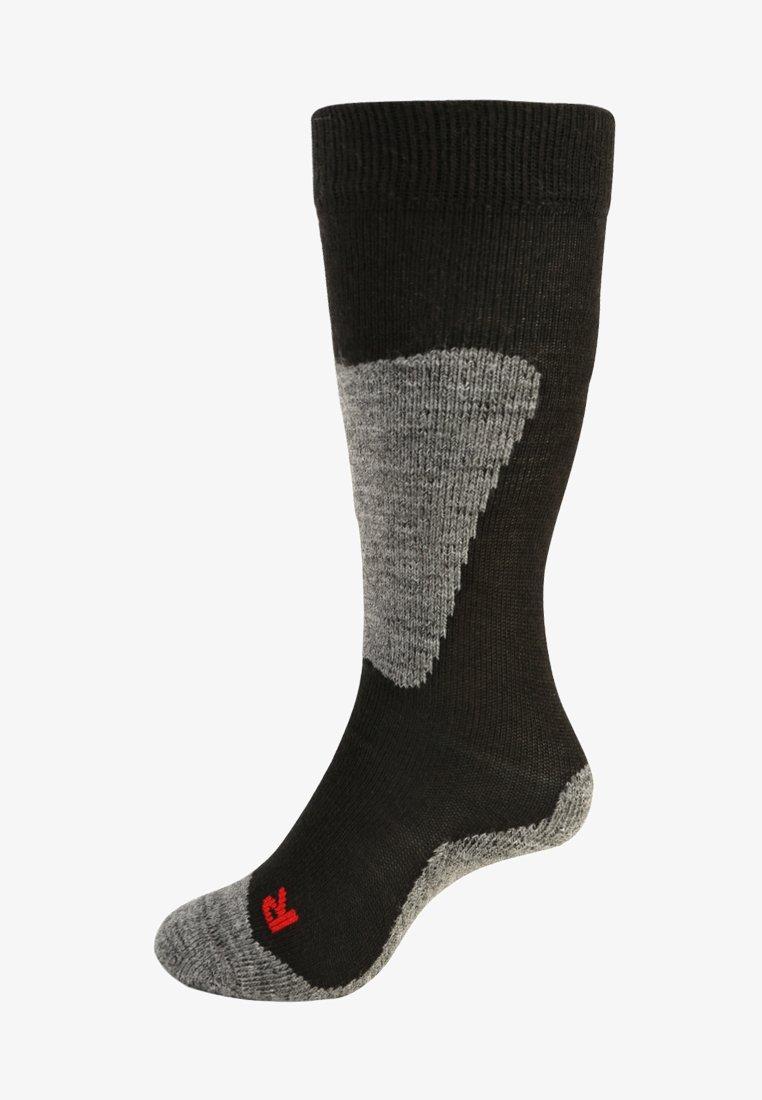 FALKE - ACTIVE SKI - Knee high socks - black