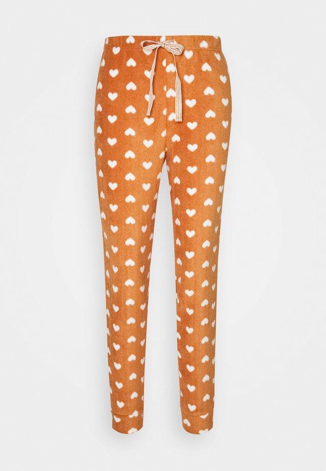 TROUSERS - Spodnie od piżamy - brown