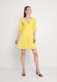 Lace & Beads - RAINA DRESS - Cocktail dress / Party dress - yellow - 1