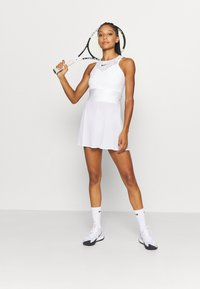 Nike Performance - MARIA DRESS - Sports dress - white/black - 1