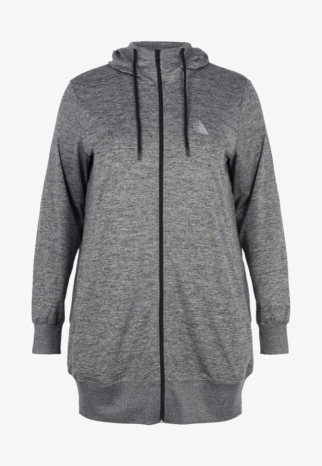 veste en sweat zippée - grey
