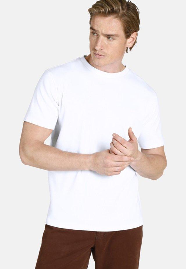 DOPPELPACK - EARL MARVIN - T-shirt basique - white