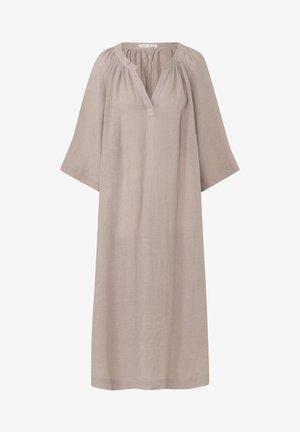 Korte jurk - light brown