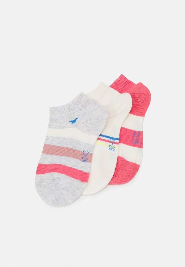 COLORFUL STRIPE SNEAKER 6 PACK - Socks - tea rose