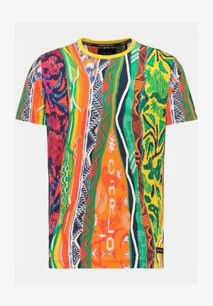 Print T-shirt - multi-colored