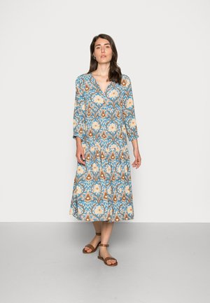 MIDI DRESS PRINTED - Robe d'été - parisian blue