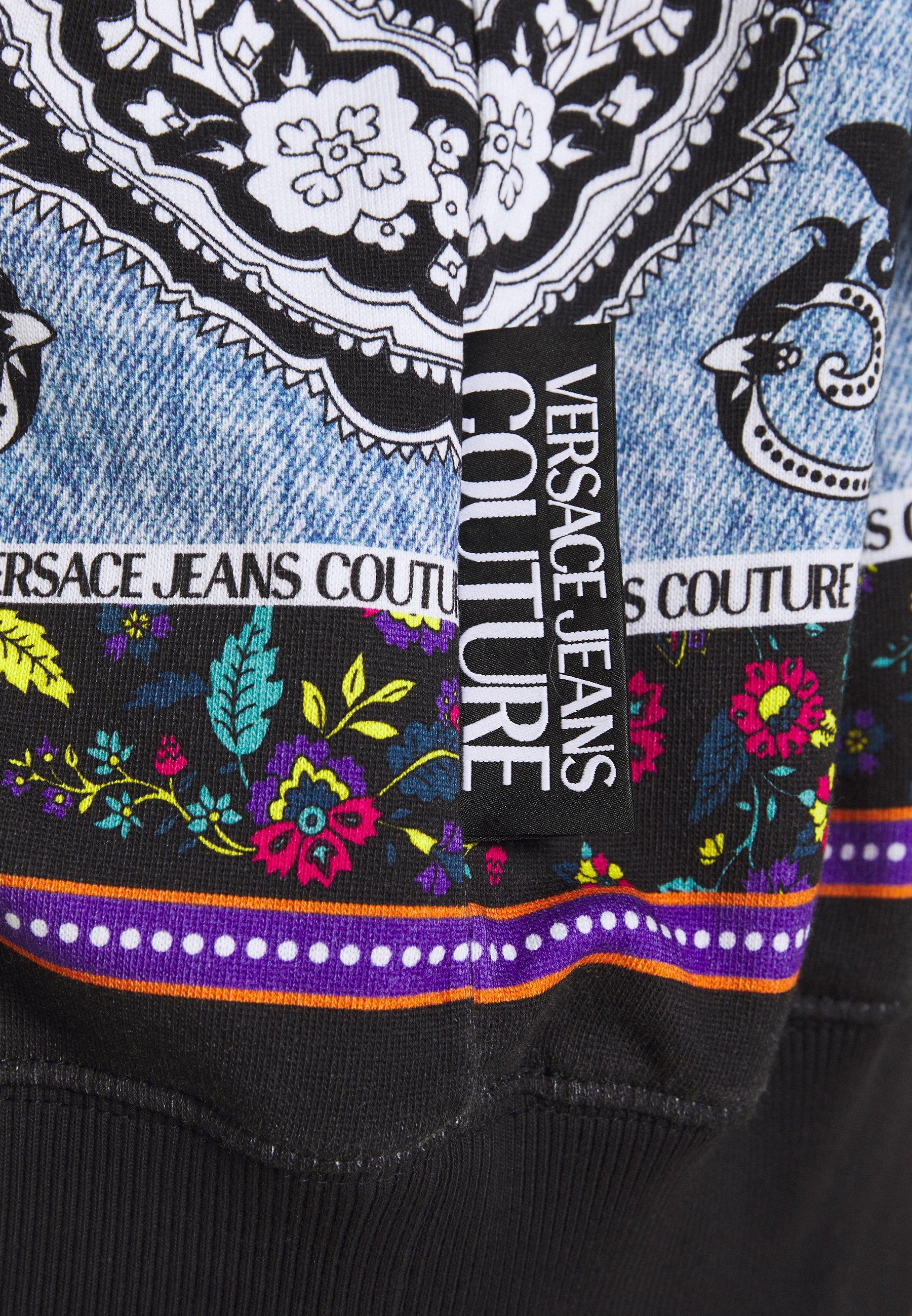 A basso costo Abbigliamento da uomo Versace Jeans Couture FELPA Felpa nero