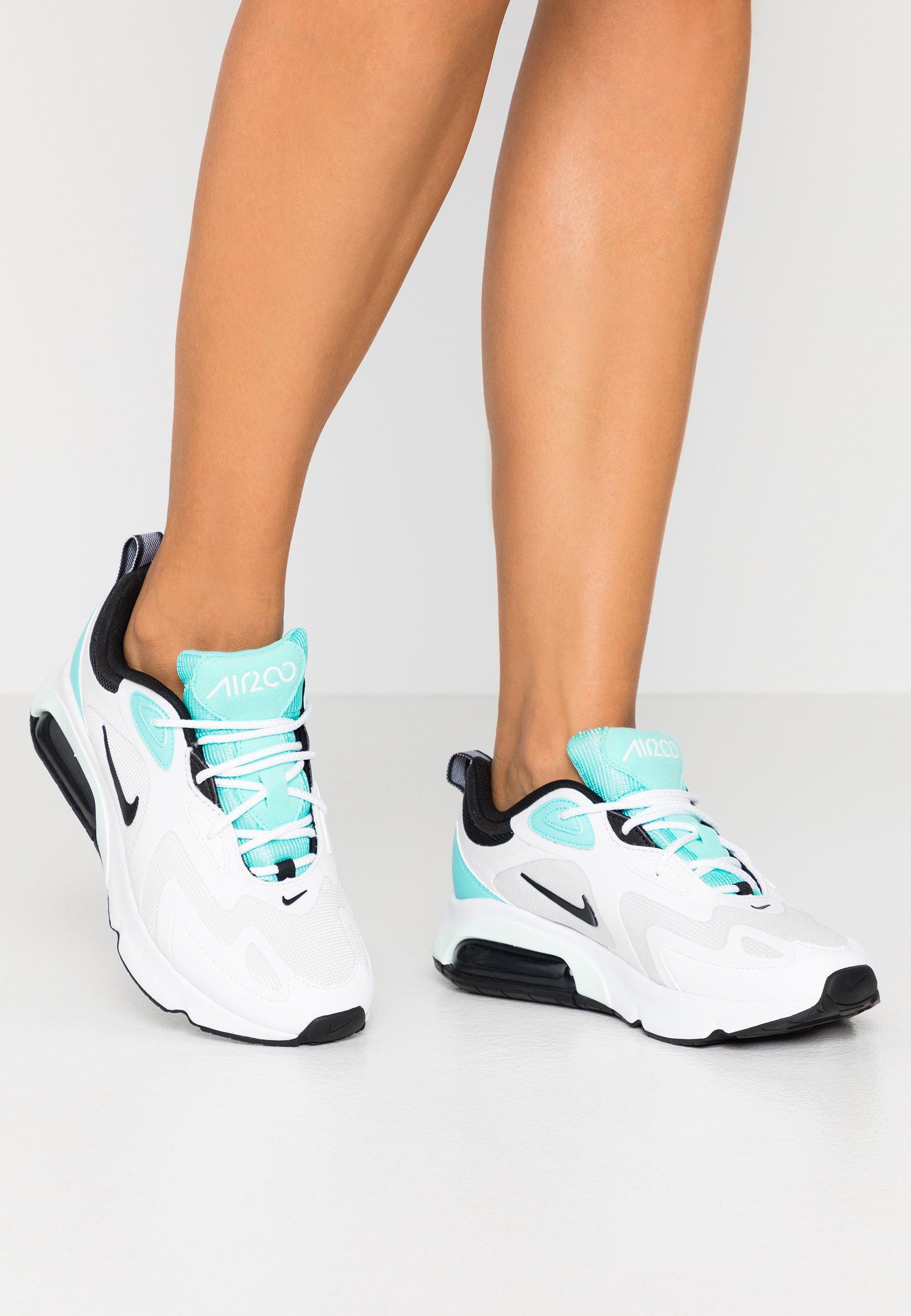 AIR MAX 200 - Baskets basses - white/black/platinum tint/white/aurora  green/teal tint