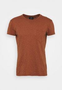 PALM - Basic T-shirt - dark orange