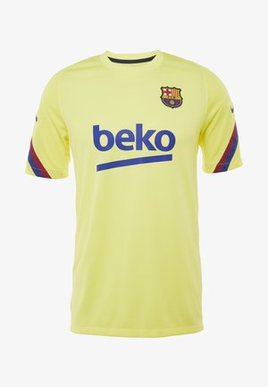 FC BARCELONA TOP - Club wear - sonic yellow/dark obsidian