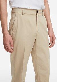 KARL LAGERFELD - TWILL  - Kalhoty - beige - 4