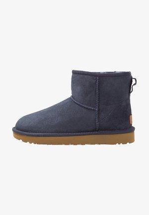 CLASSIC MINI II - Classic ankle boots - navy