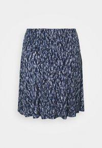 ICHI PETITE - LISA - A-line skirt - blue - 1
