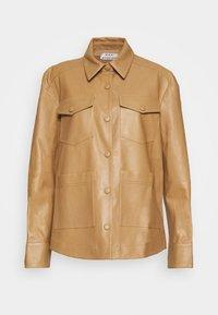 Rika - PARIS JACKET - Leather jacket - light brown - 8
