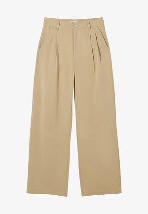 Kalhoty - camel