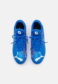 Puma - FUTURE Z 4.2 FG/AG JR UNISEX - Moulded stud football boots - bluemazing/sunblaze/surf - 3