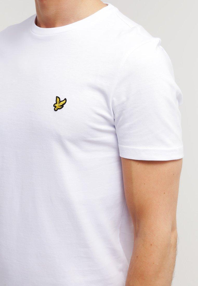 Lyle & Scott T-shirts - White/hvit