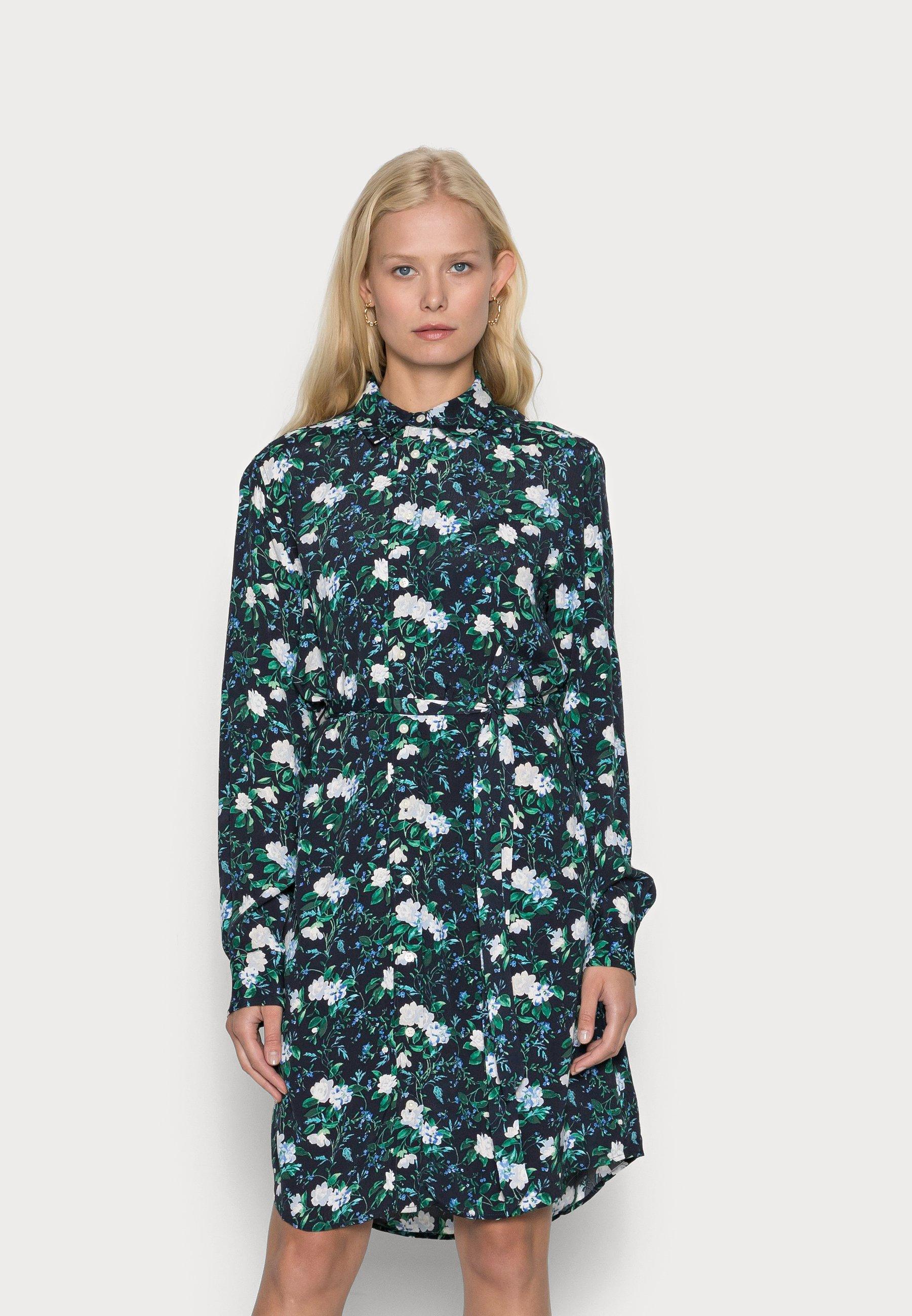 Women ROSE CREPE DRESS - Shirt dress