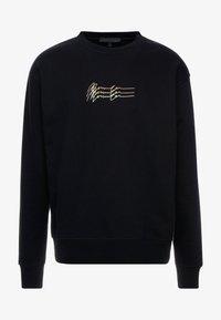 Mennace - TRIPLE SIGNATURE  - Sweatshirt - black - 4