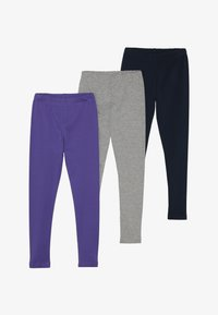 Friboo - 3 PACK - Leggings - navy blazer/grey marl/black - 4