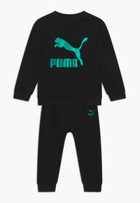 Puma - PUMA X ZALANDO BABY JOGG SET - Trainingspak - black - 0