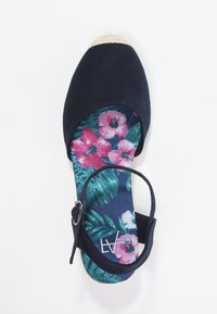 Anna Field - Wedge sandals - navy - 1