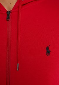 Polo Ralph Lauren - DOUBLE-KNIT FULL-ZIP HOODIE - Tröja med dragkedja - red - 5