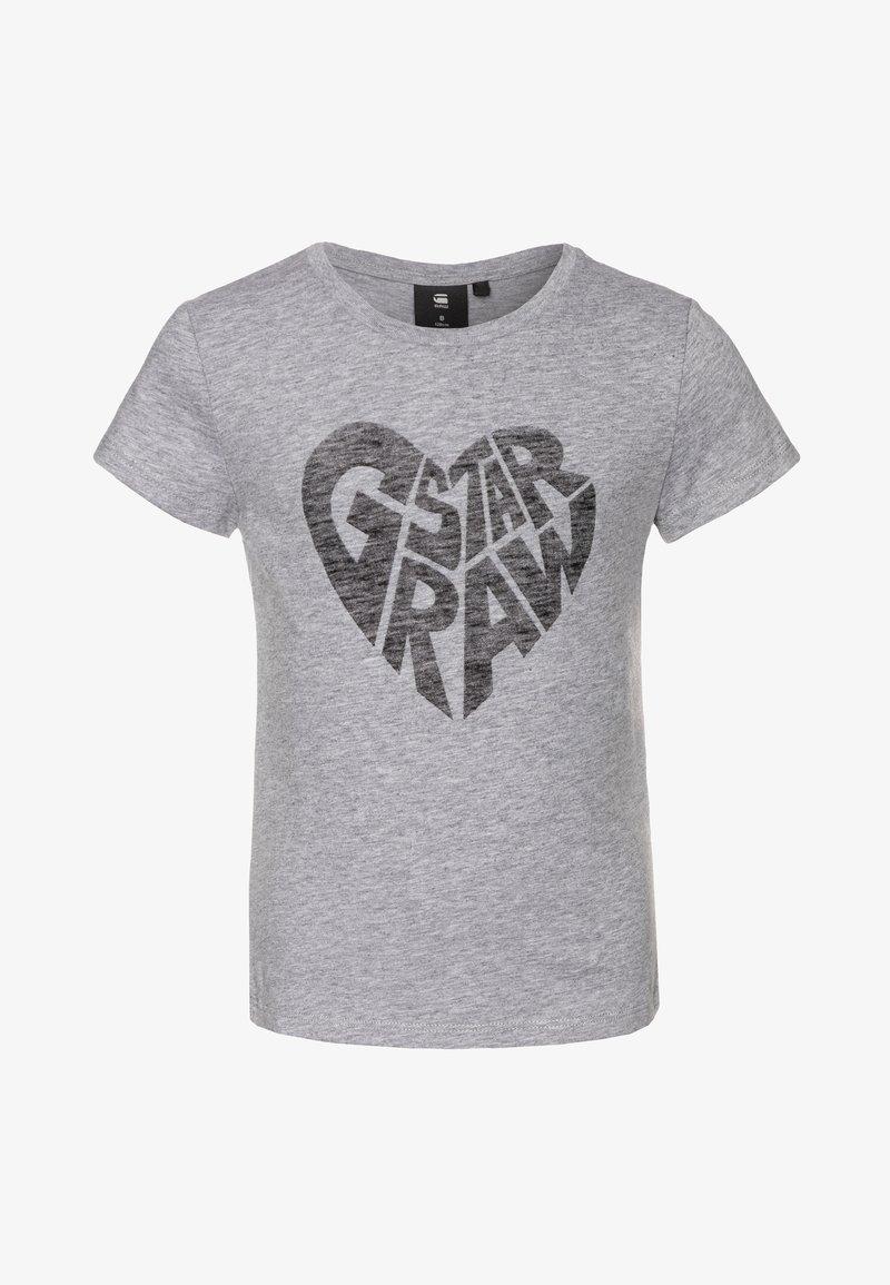 G-Star - Print T-shirt - grey