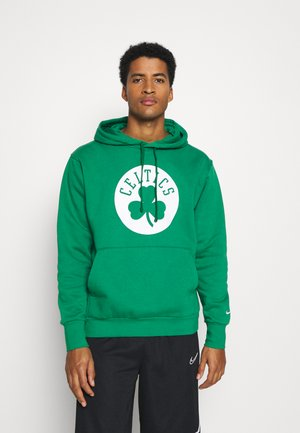 NBA BOSTON CELTICS LOGO HOODIE - Club wear - clover/white