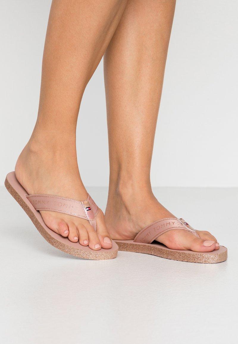 Tommy Hilfiger - MYRA  - T-bar sandals - rose gold