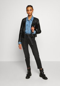 ONLY - ONLDALY JACKET - Giacca in similpelle - black - 1