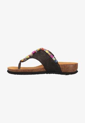 T-bar sandals - sz/kombi