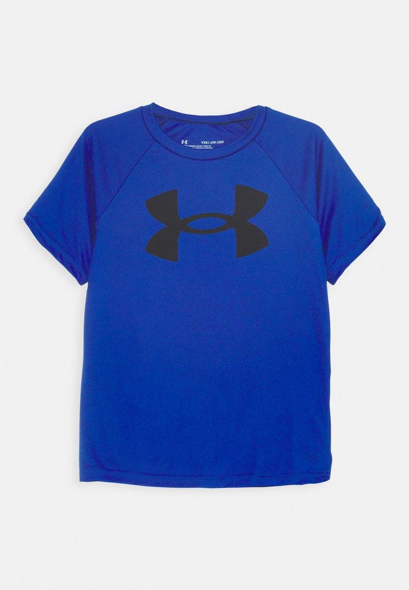 Under Armour - TECH BIG LOGO UNISEX - Camiseta estampada - royal