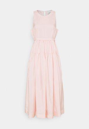 SLEEVELESS BELTED MAXI DRESS - Day dress - light blush