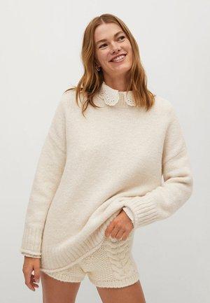 SANT - Pullover - ecru