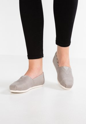 VEGAN ALPARGATA - Slipper - grey