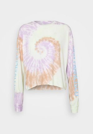 TIE DYE LONG SLEEVE COVE TEE - Camiseta de manga larga - multi