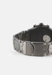 Swatch - CRAZY DRIVE - Zegarek chronograficzny - silver-coloured - 1