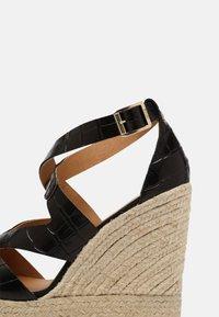 Kanna - SOFIA - Platform sandals - schwarz - 7
