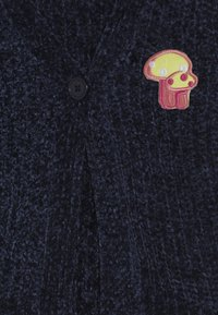 Lemon Beret - SMALL GIRLS CARDIGAN PULL - Vest - medieval blue - 4