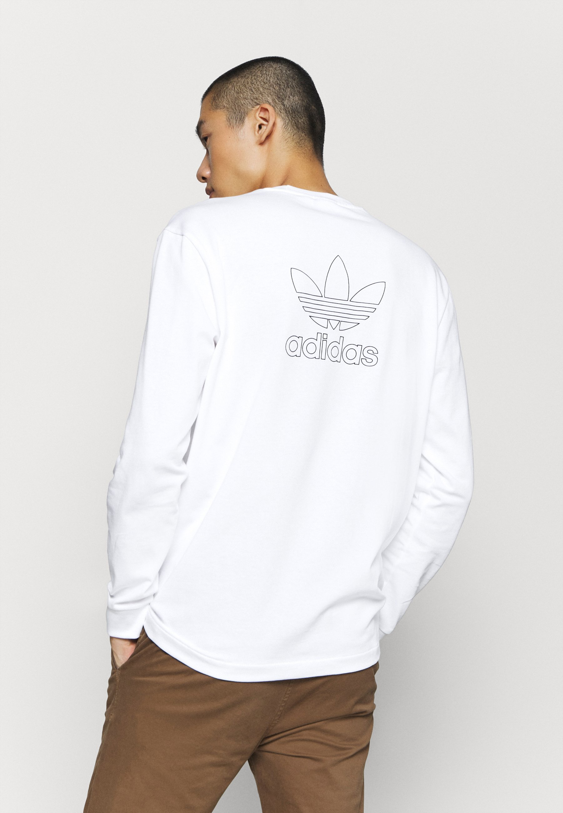 Adidas Originals Topper Langermet - White/black/hvit
