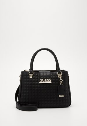 MATRIX LUXURY SATCHEL - Torebka - black