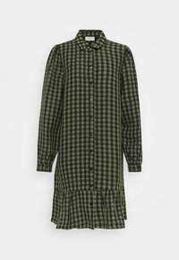 Freequent - Shirt dress - olive mix - 0