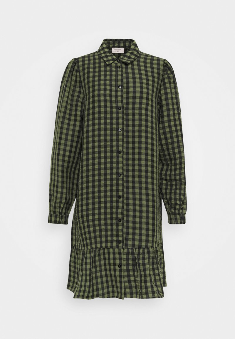 Freequent - Shirt dress - olive mix