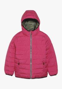 Superdry - REVERSIBLE FUJI - Zimní bunda - highlight pink - 1
